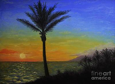 Painting - Makena Sunset by Michelle Welles