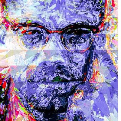 America Wall Art - Photograph - Malcolm X Was Told He Could Be Nothing by David Haskett II