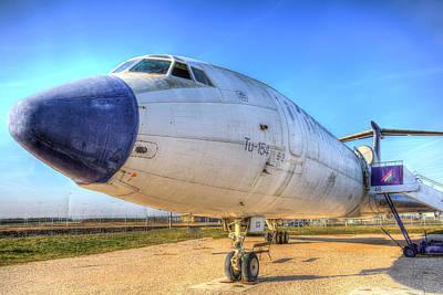 Photograph - Malev Tupolev Tu-154 by David Pyatt