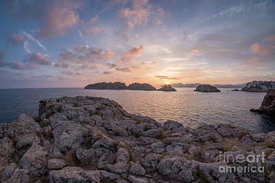 Photograph - Malgrats Islands by Hans- Juergen Leschmann