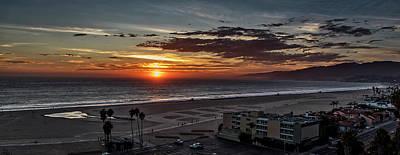 Photograph - Malibu Sunset by Gene Parks