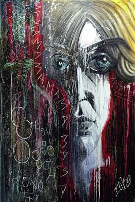 Painting - Mama by Rick Baldwin