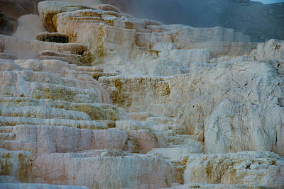 Photograph - Mammoth Hot Springs II by Gary Lengyel