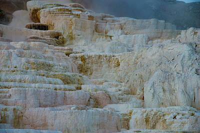 Photograph - Mammoth Hot Springs II by Gary Lengyel