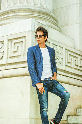 Photograph - Man Casual Fashion by Alexander Image