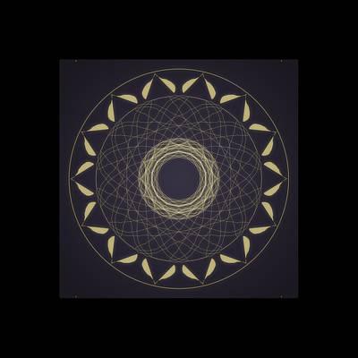Digital Art - Mandala 1 by Riana Van Staden