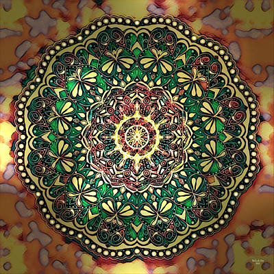 Digital Art - Mandala Art by Artful Oasis