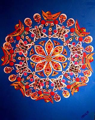Mixed Media - Mandala by Bob Craig