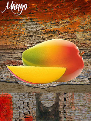 Mango Collection Art Print by Marvin Blaine