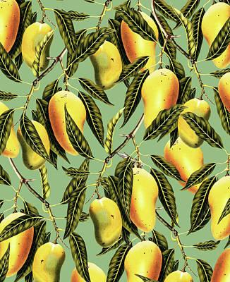Mango Digital Art - Mango Season by Uma Gokhale