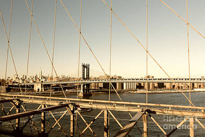 Photograph - Manhattan Bridge View  by Alissa Beth Photography