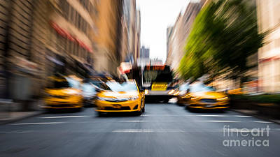Photograph - Manhattan In Motion by Alissa Beth Photography
