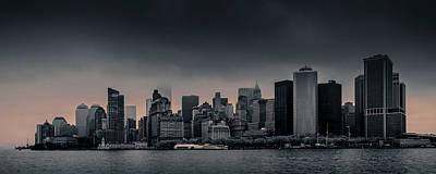Photograph - Manhattan Moods by Az Jackson