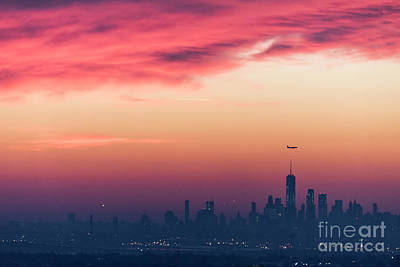 Photograph - Manhattan Pre-dawn by Zawhaus Photography