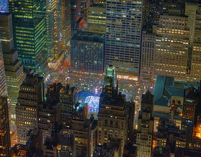 Marvelous Marble Rights Managed Images - Manhattan Skyline 274 Royalty-Free Image by Jeff Stallard