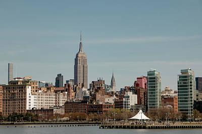 Photograph - Manhattan Skyline by Teresa Wilson