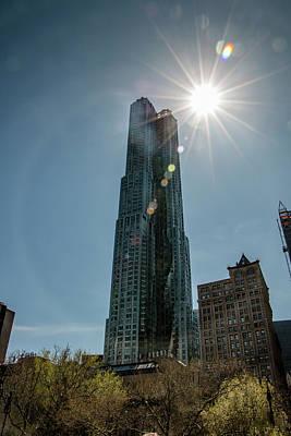 Photograph - Manhattan Skyscraper by Teresa Wilson