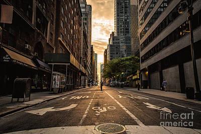 Photograph - Manhattan Walk by Alissa Beth Photography