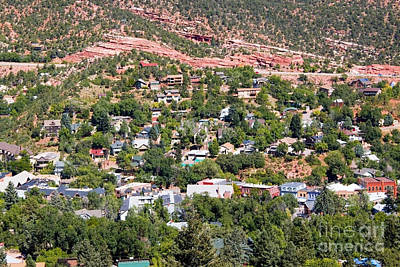 Steven Krull Royalty-Free and Rights-Managed Images - Manitou Springs Colorado Intemann Trail by Steven Krull