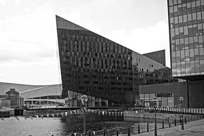 Photograph - Mann Island Buildings - Liverpool by Doc Braham