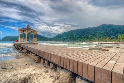 Photograph - Maracas Bay, Trinidad 5 by Nadia Sanowar