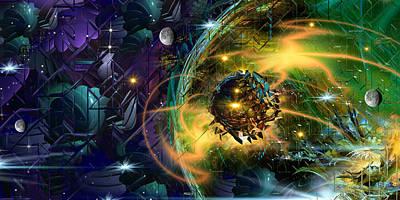 Loon Digital Art - Maraxus by Phil Sadler