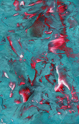 Painting - Marbled by Jason Girard