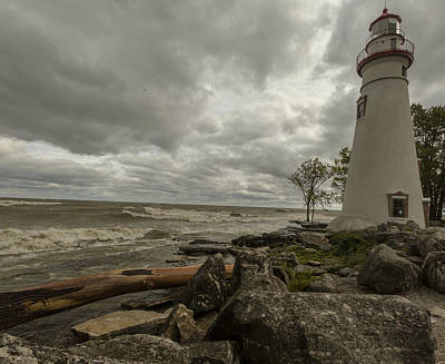 Photograph - Marblehead Lighthouse by Jack R Perry