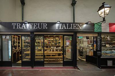 Paris Shop Digital Art - Marche De Legumes In Paris France by Carol Ailles