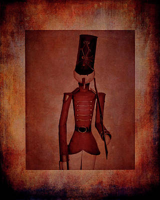 Crow Photograph - Marching Soldier by Lesa Fine