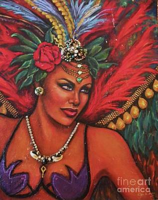 Painting - Mardi Gras by Alga Washington