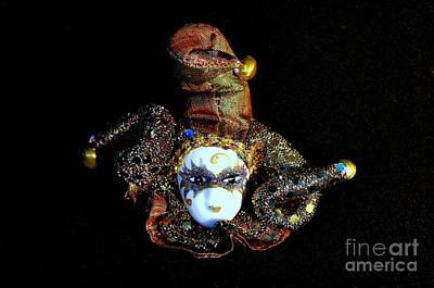 Photograph - Mardi Gras Jester No 1 by Mary Deal