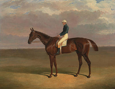 Painting - Margrave With James Robinson Up by Treasury Classics Art
