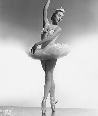 1950s Portraits Photograph - Maria Tallchief, Ballerina by Everett