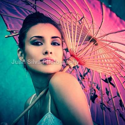 Woman Wall Art - Photograph - Mariana Ivanovna Fashion Shoot Mariana by Juan Silva