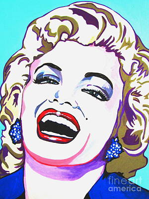 Marilyn Art Print by Colleen Kammerer