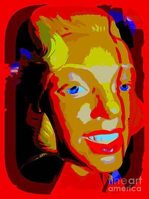 Digital Art - Marilyn by Ed Weidman
