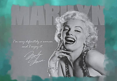Marilyn Photograph - Marilyn Monroe by Donna Kennedy