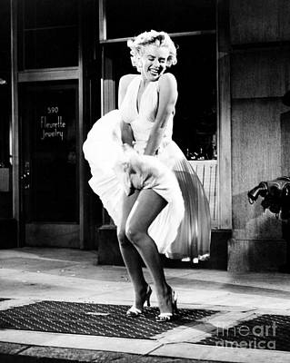 Actors Royalty-Free and Rights-Managed Images - Marilyn Monroe in THE SEVEN YEAR ITCH by The Titanic Project