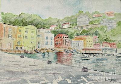 Painting - Marina Grande, Sorrento by Laurie Morgan