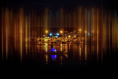 Photograph - Marine At Night by Lilia D