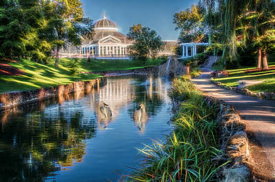 Photograph - Marjorie Mcneely Conservatory by Patti Deters