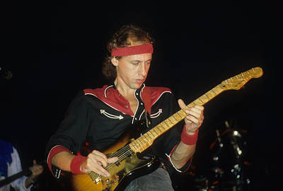 Photograph - Mark Knopfler Of Dire Straits by Rich Fuscia