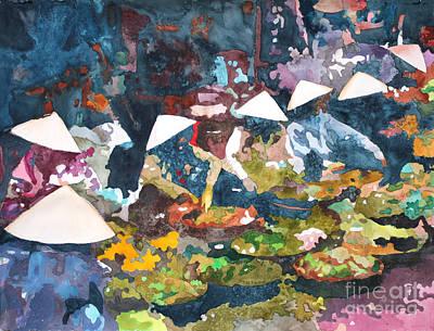 Painting - Market Fresh by Yolanda Koh
