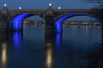 Photograph - Market Street Bridge, Harrisburg Pa by Kyle Lee