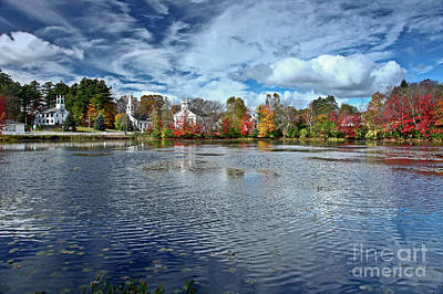 Photograph - Marlow New Hampshire by Butch Lombardi