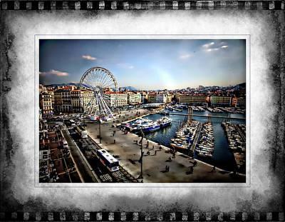 Photograph - Marseilles Harbor by Hugh Smith