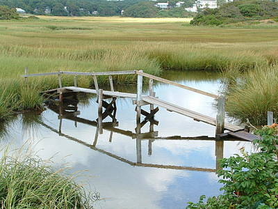 Photograph - Marsh Bridge by Bill Barber