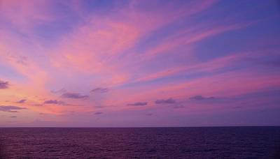 Photograph - Marshall Islands Area Sky 6 by Phyllis Spoor