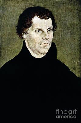 Painting - Martin Luther by Granger